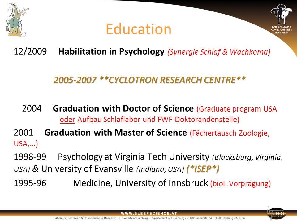 2005-2007 **CYCLOTRON RESEARCH CENTRE**