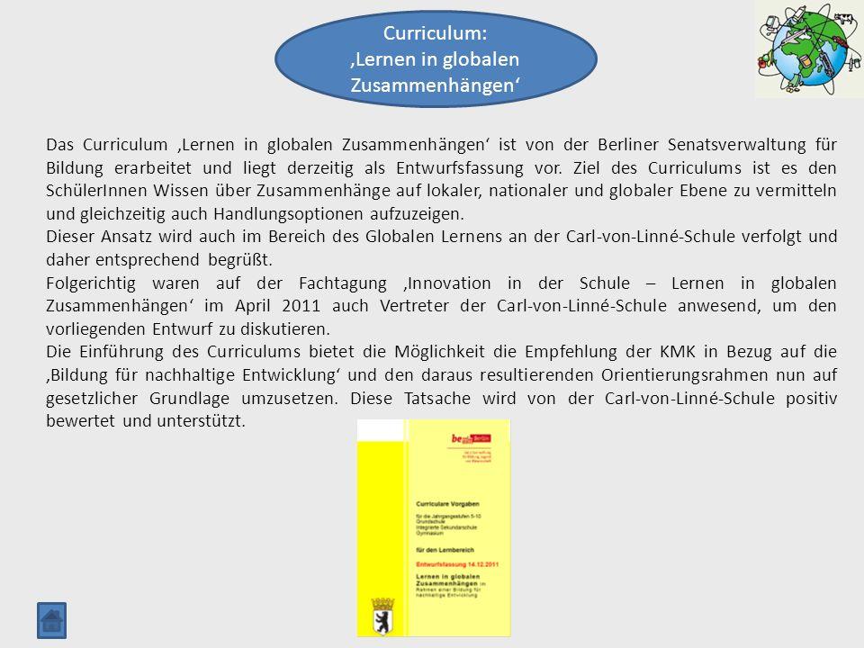 'Lernen in globalen Zusammenhängen'