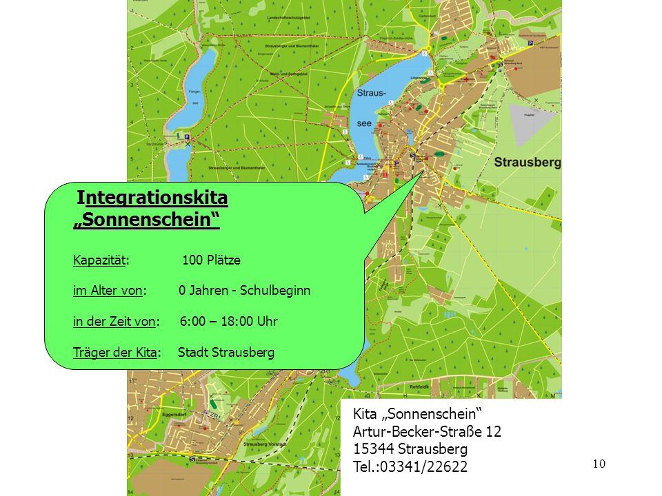 """Integrationskita """"Sonnenschein"""