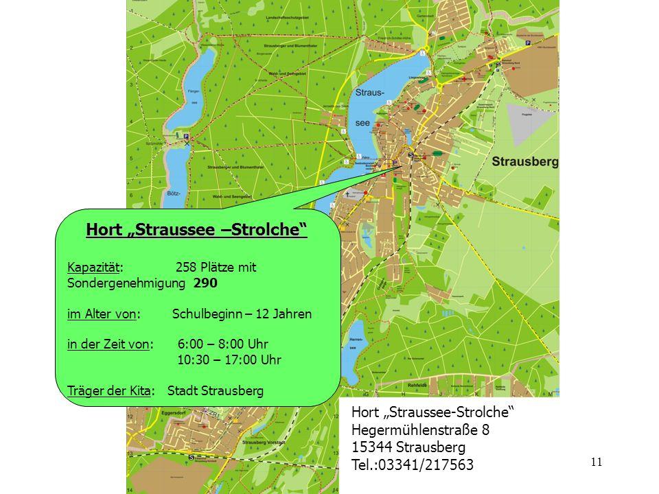 """Hort """"Straussee –Strolche"""