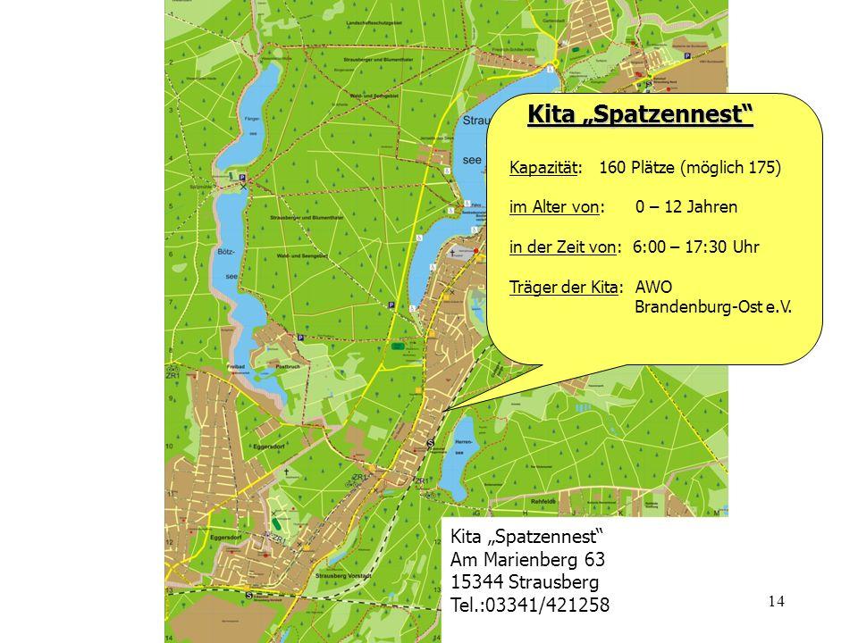 "Kita ""Spatzennest Kita ""Spatzennest Am Marienberg 63"