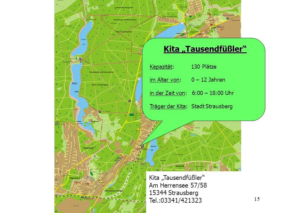 "Kita ""Tausendfüßler Kita ""Tausendfüßler Am Herrensee 57/58"