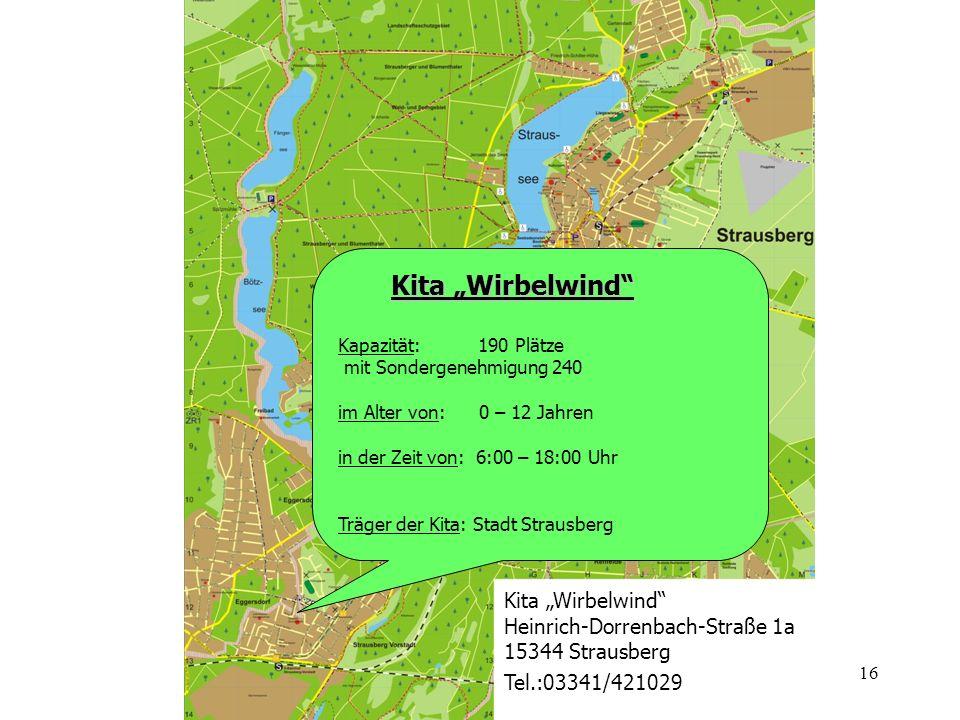 "Kita ""Wirbelwind Kita ""Wirbelwind Heinrich-Dorrenbach-Straße 1a"