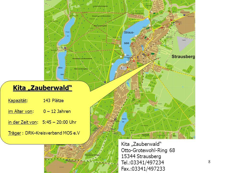 """Kita """"Zauberwald Kita """"Zauberwald Otto-Grotewohl-Ring 68"""