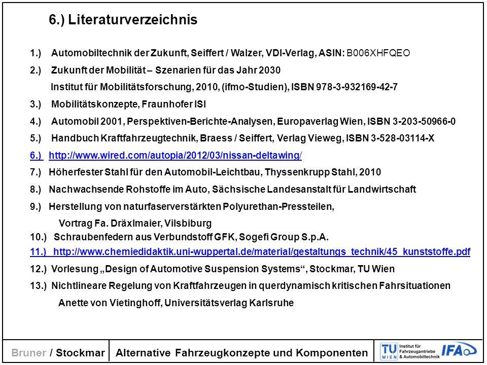 6.) Literaturverzeichnis