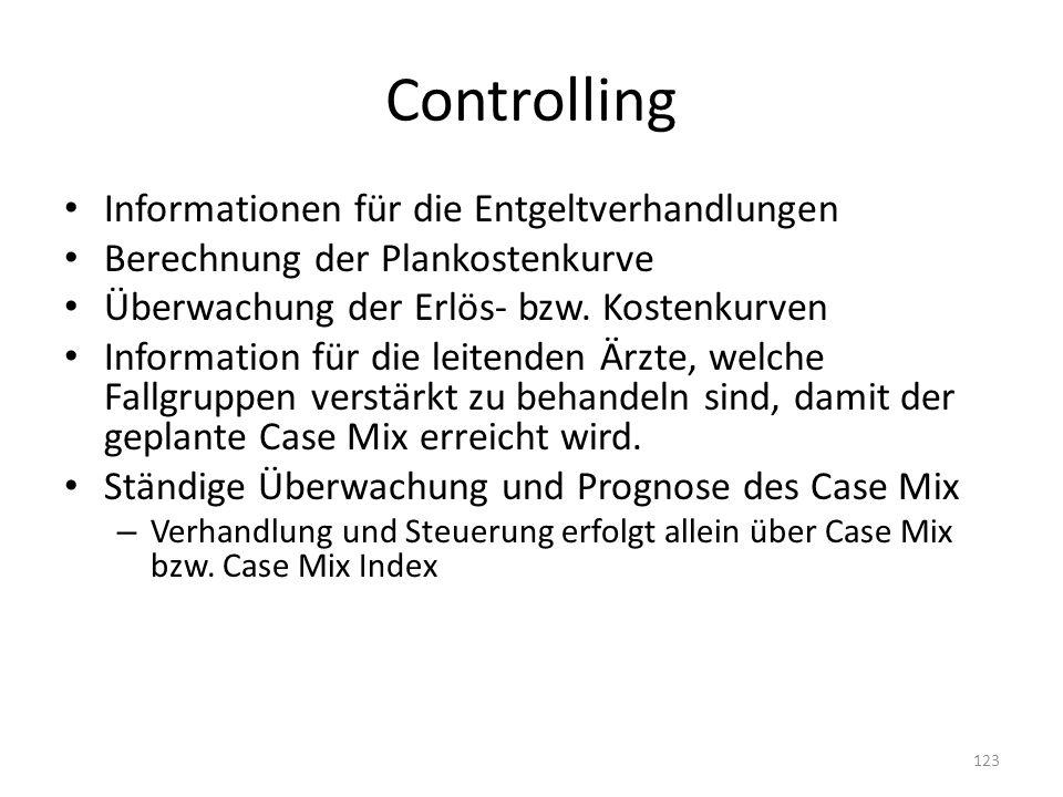 Controlling Informationen für die Entgeltverhandlungen