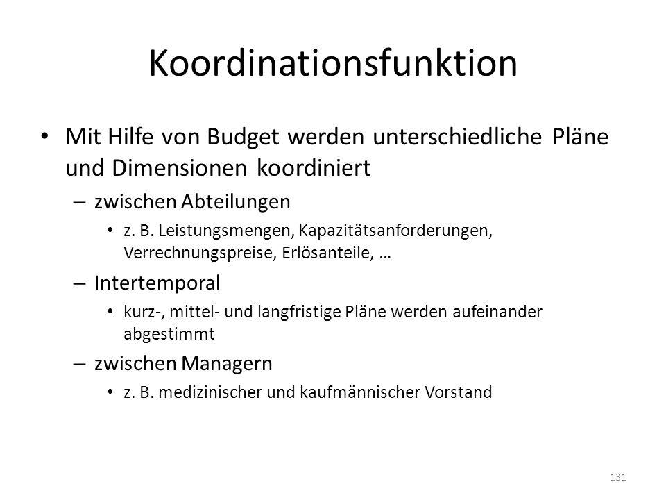 Koordinationsfunktion