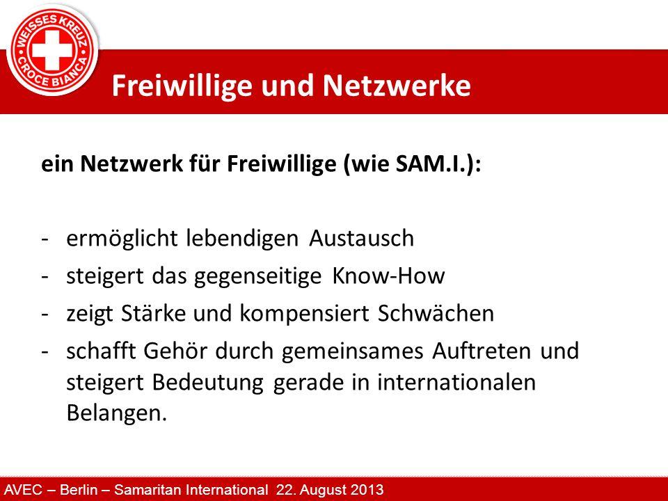 Freiwillige und Netzwerke