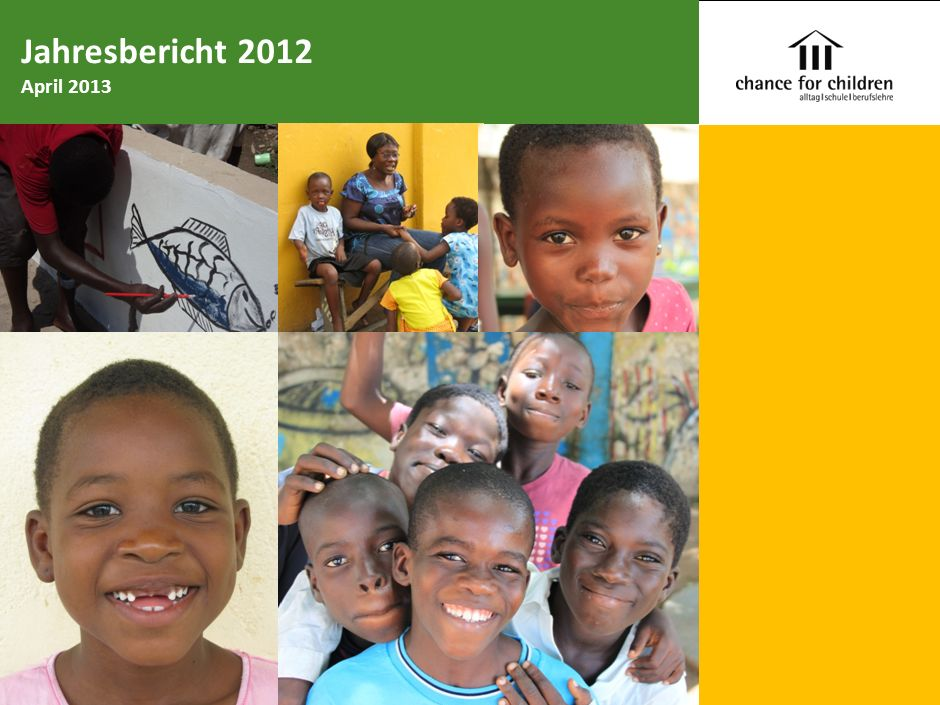Jahresbericht 2012 April 2013