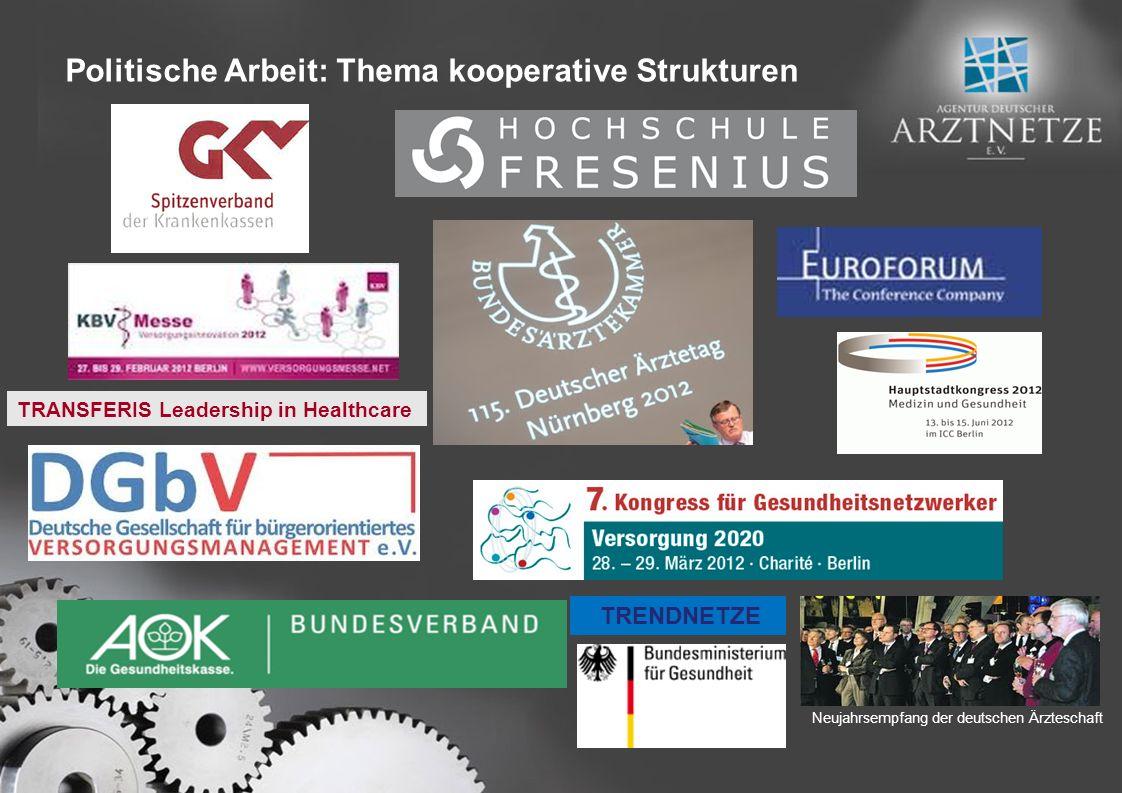 Politische Arbeit: Thema kooperative Strukturen