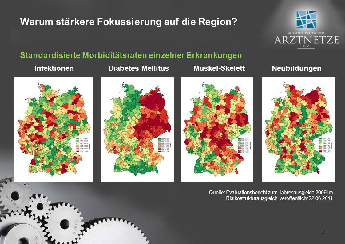 Warum stärkere Fokussierung auf die Region