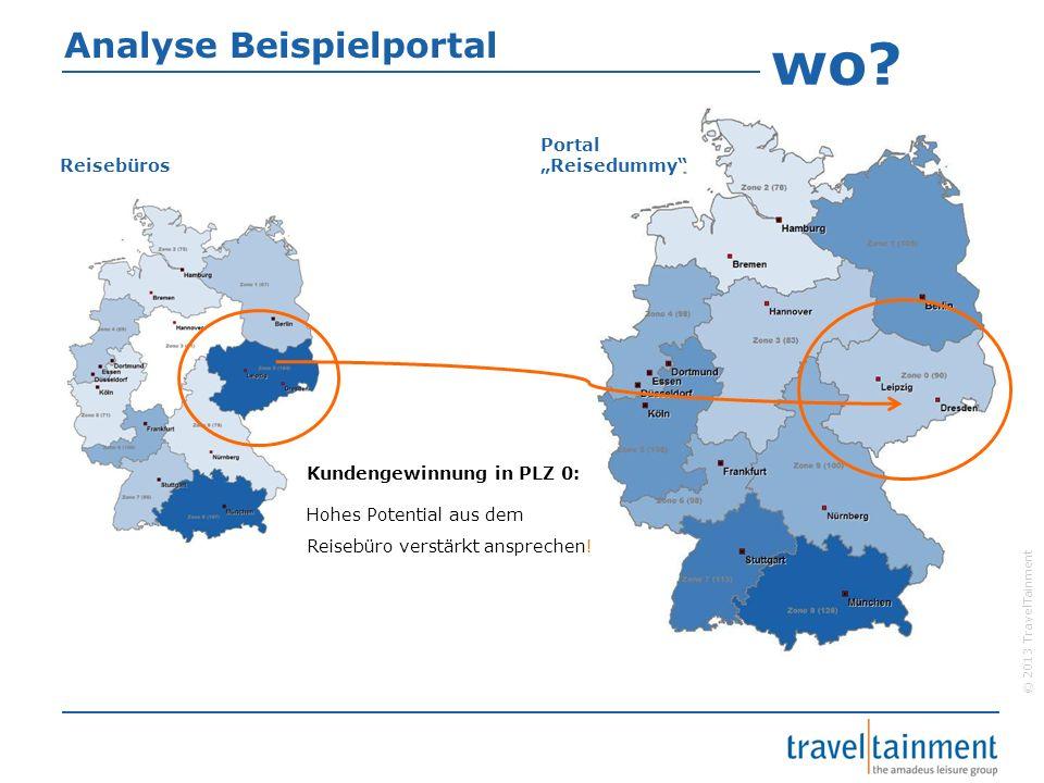 "wo Analyse Beispielportal Portal ""Reisedummy Reisebüros"
