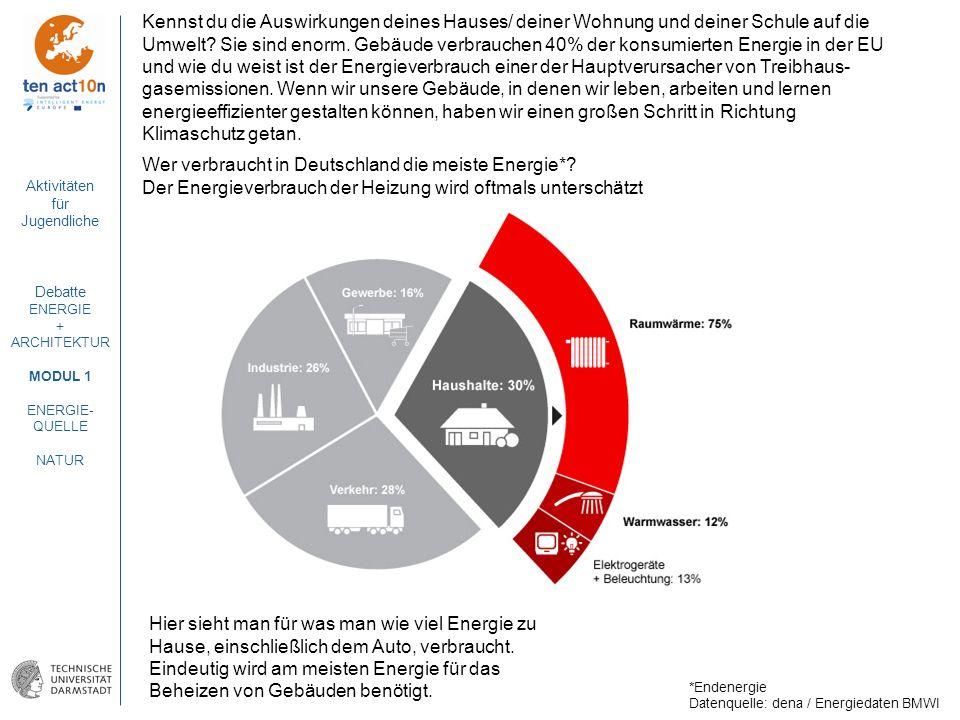 Wer verbraucht in Deutschland die meiste Energie*