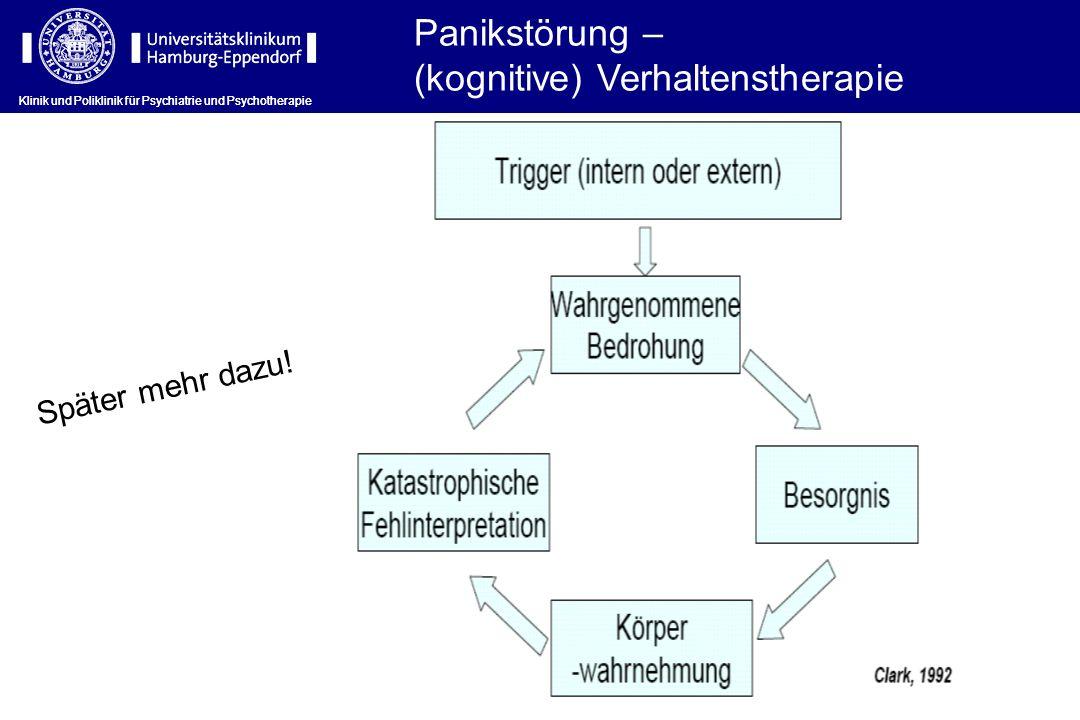 (kognitive) Verhaltenstherapie