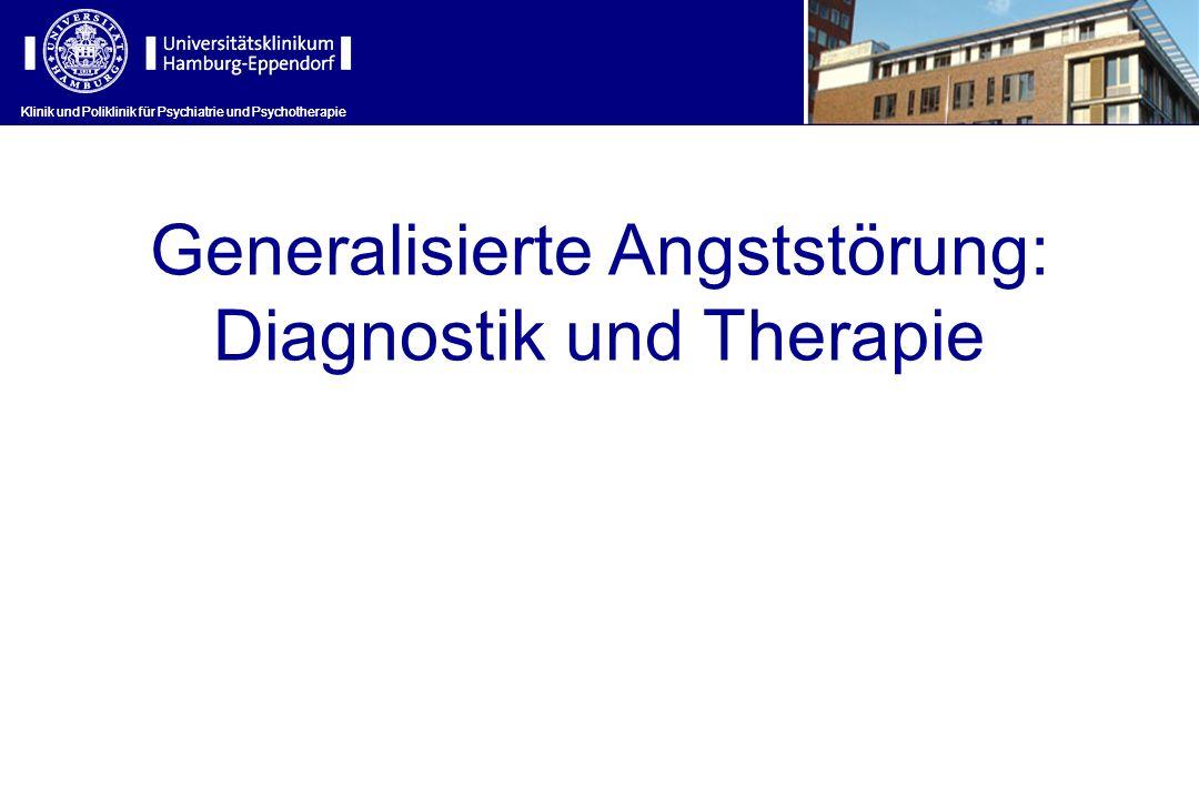 Generalisierte Angststörung: Diagnostik und Therapie