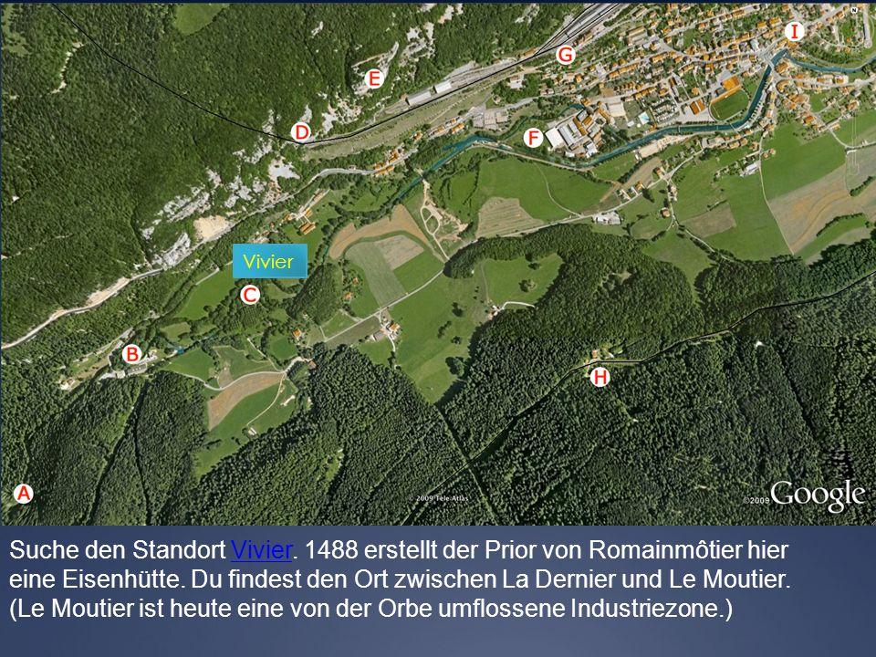 (Le Moutier ist heute eine von der Orbe umflossene Industriezone.)