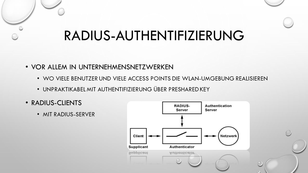 Radius-authentifizierung