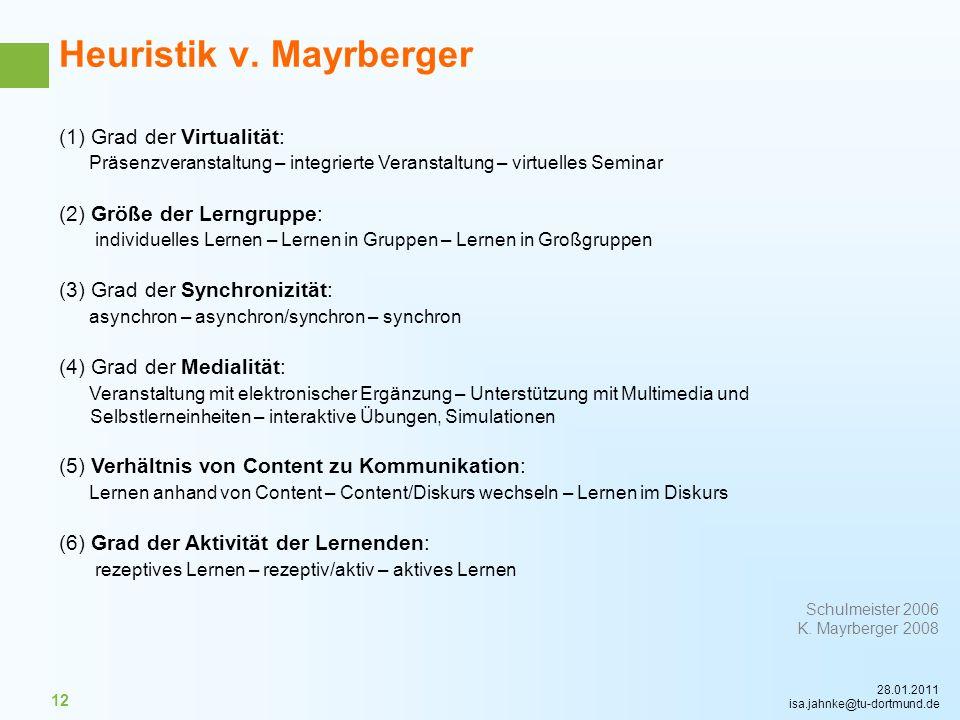 Heuristik v. Mayrberger