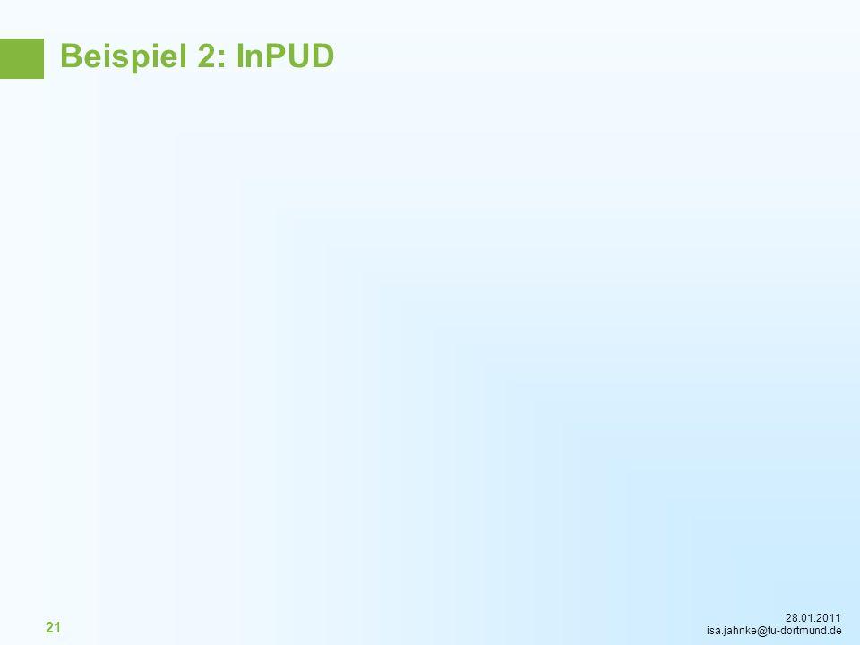 Beispiel 2: InPUD