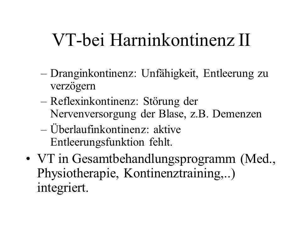 VT-bei Harninkontinenz II