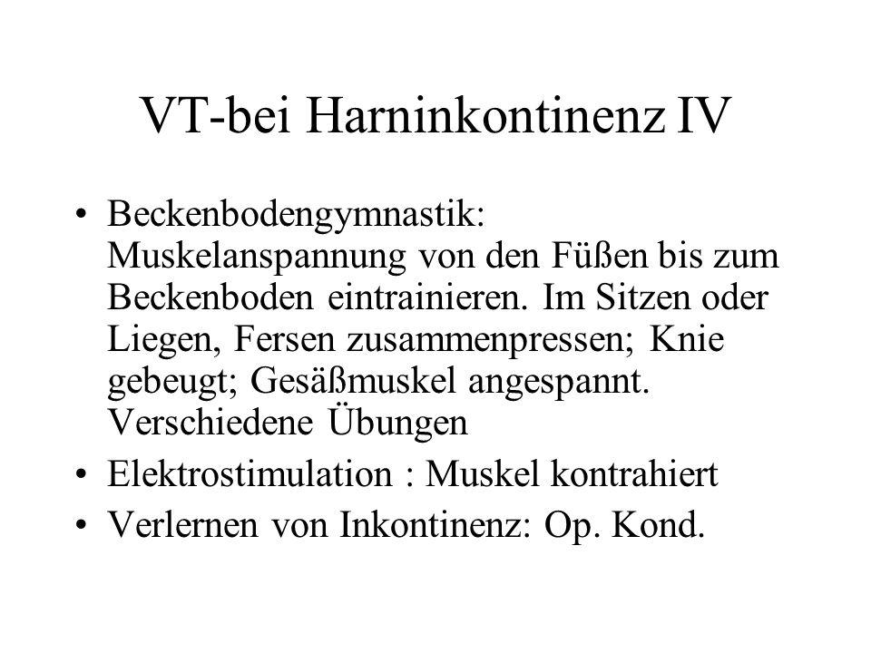 VT-bei Harninkontinenz IV