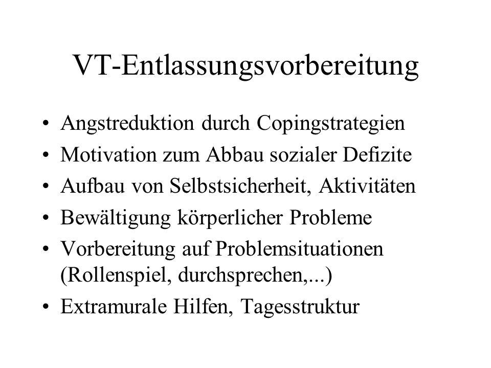 VT-Entlassungsvorbereitung