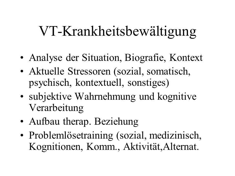 VT-Krankheitsbewältigung
