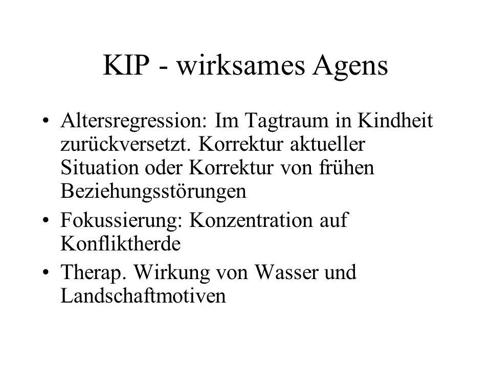 KIP - wirksames Agens