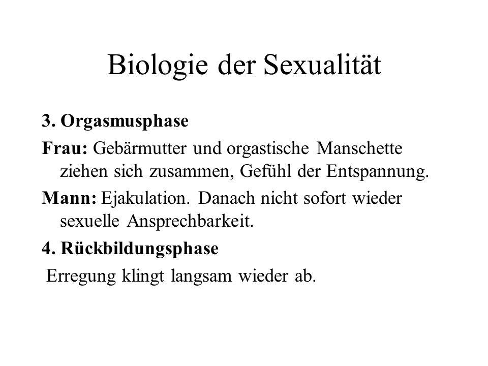 Biologie der Sexualität