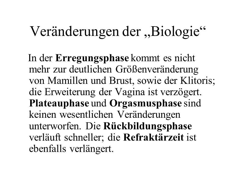 """Veränderungen der """"Biologie"""