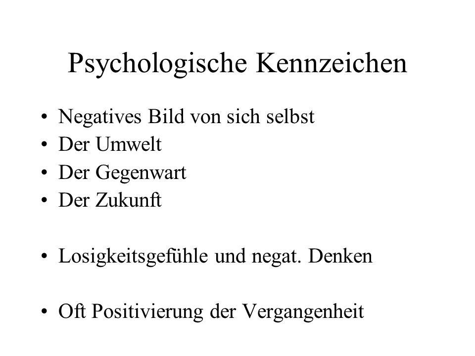 Psychologische Kennzeichen