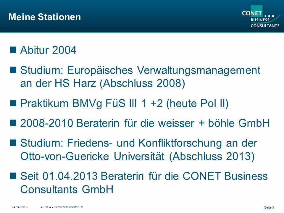 Praktikum BMVg FüS III 1 +2 (heute Pol II)