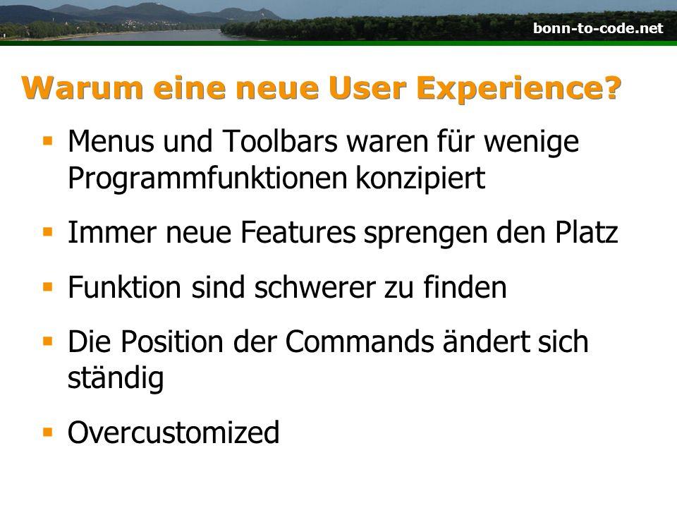 Warum eine neue User Experience