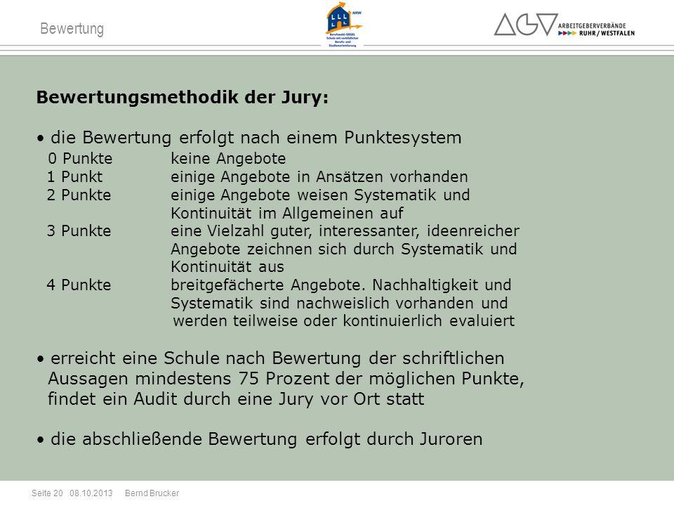 Bewertungsmethodik der Jury: