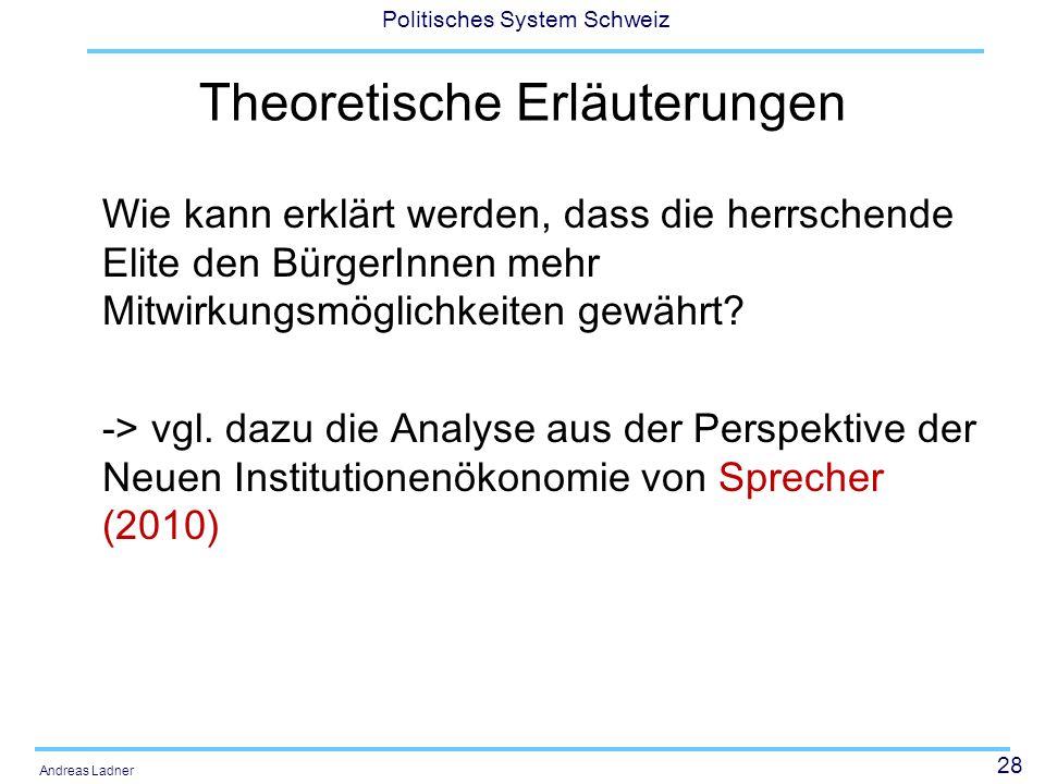 Theoretische Erläuterungen