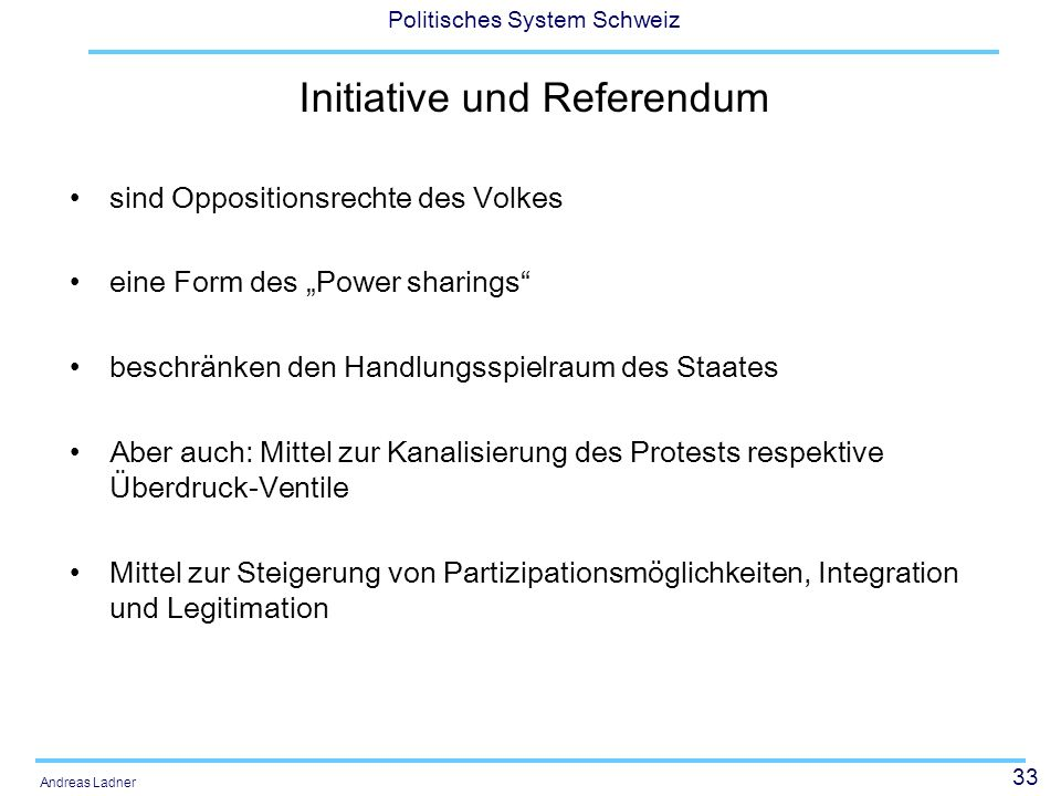 Initiative und Referendum