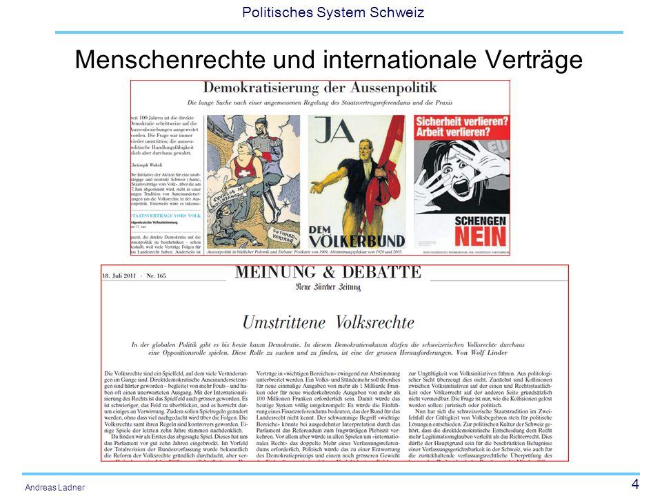Menschenrechte und internationale Verträge