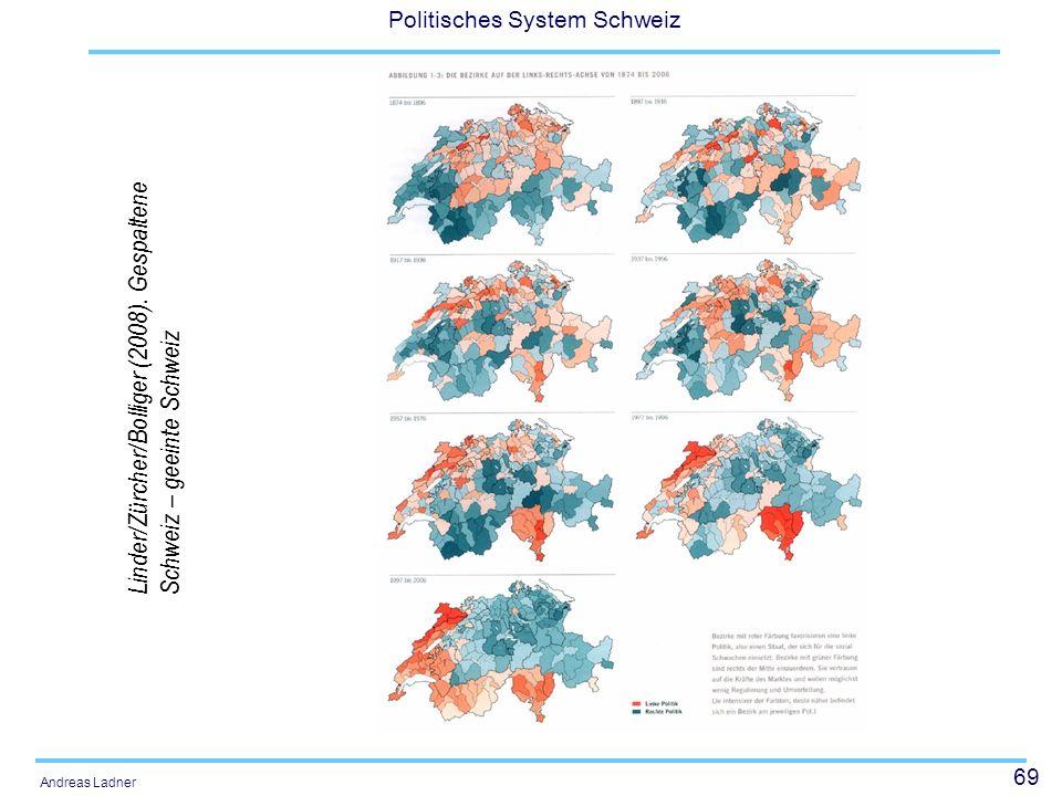 Linder/Zürcher/Bolliger (2008). Gespaltene Schweiz – geeinte Schweiz