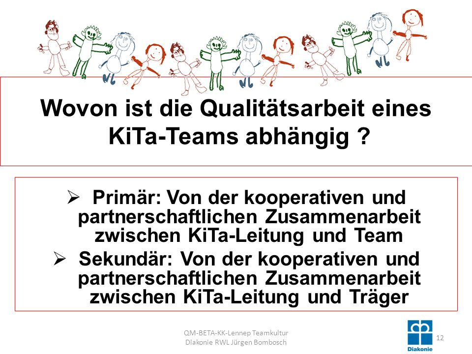 Wovon ist die Qualitätsarbeit eines KiTa-Teams abhängig