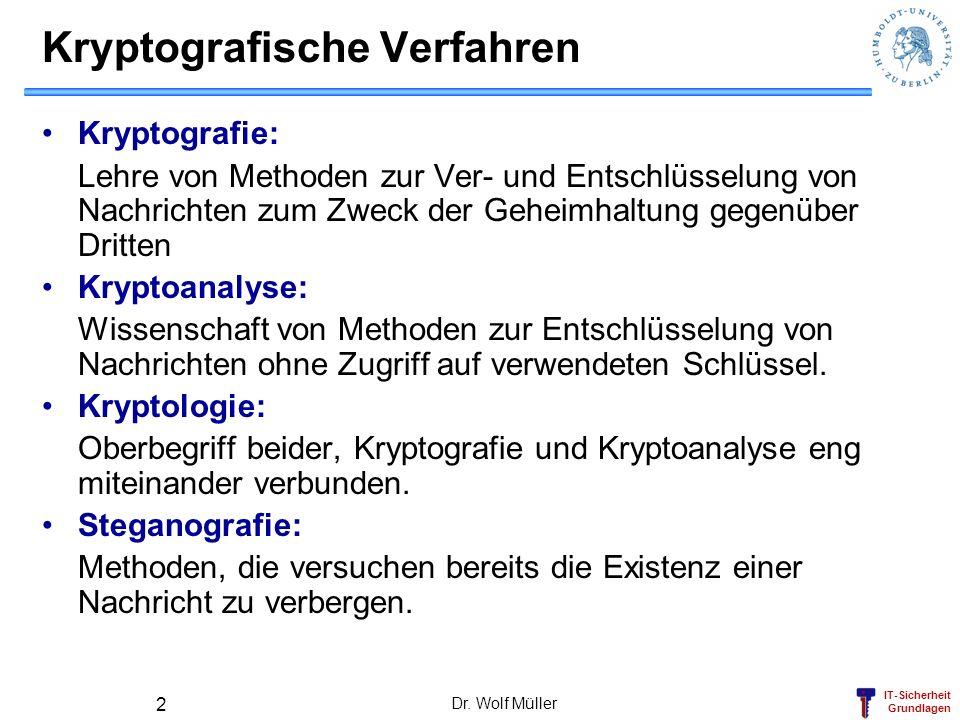 Kryptografische Verfahren