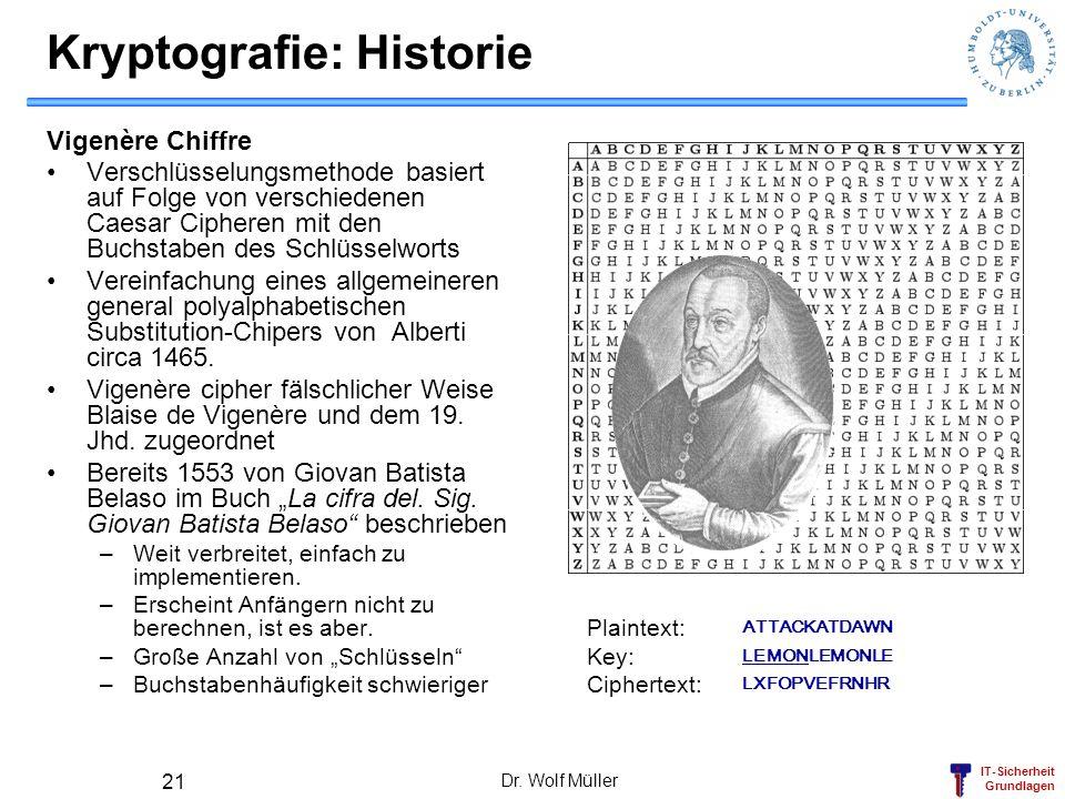 Kryptografie: Historie