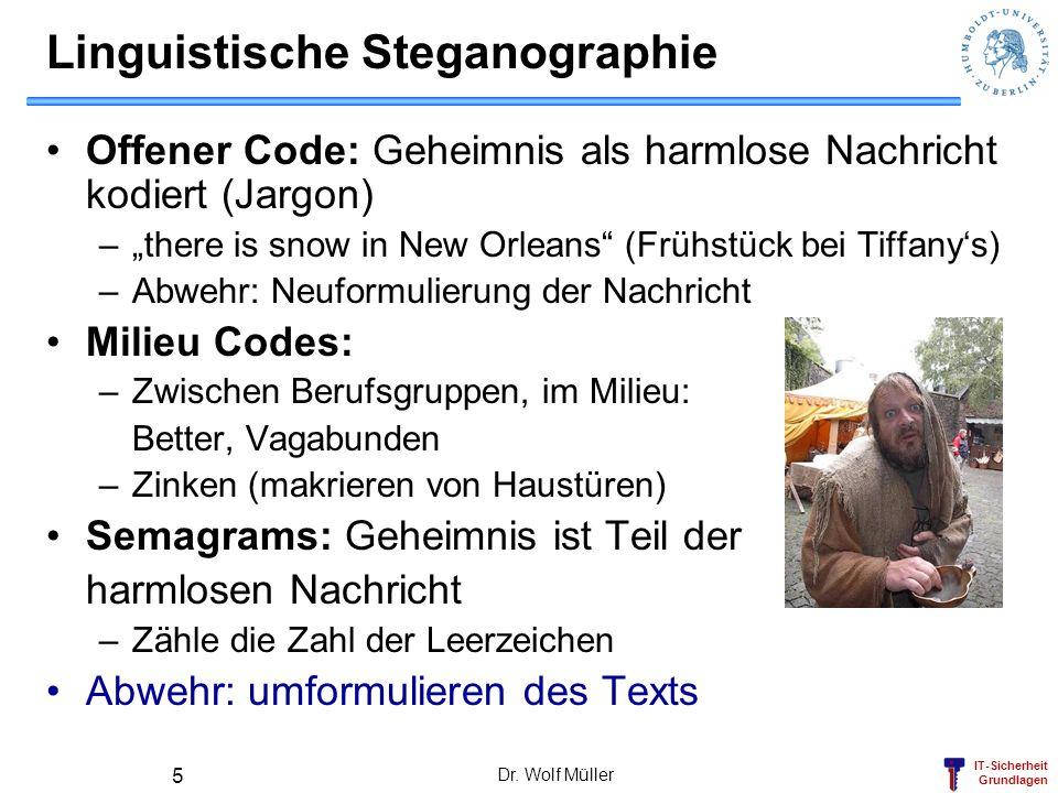 Linguistische Steganographie