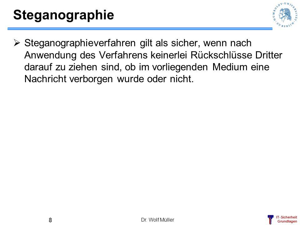 Steganographie