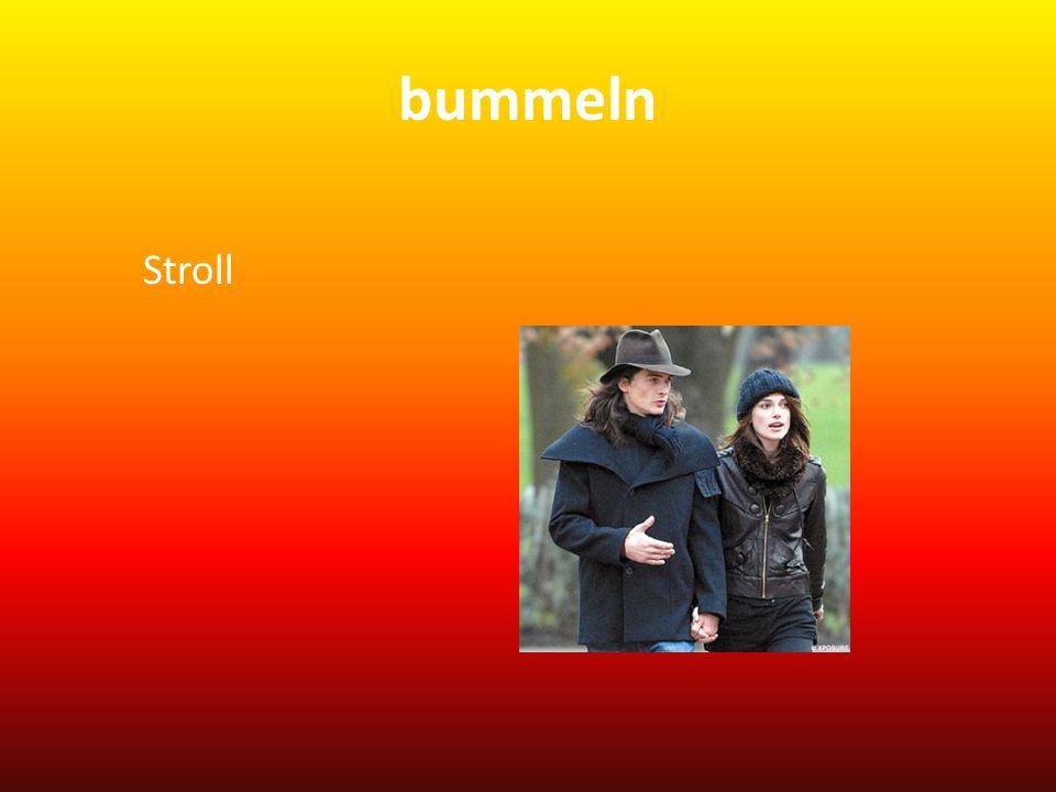 bummeln Stroll