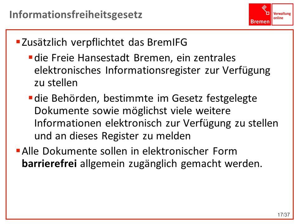 Informationsfreiheitsgesetz