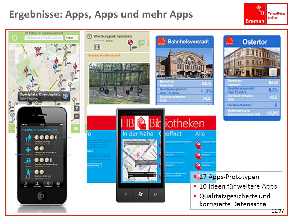Ergebnisse: Apps, Apps und mehr Apps