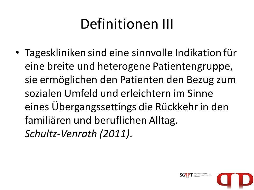 Definitionen III
