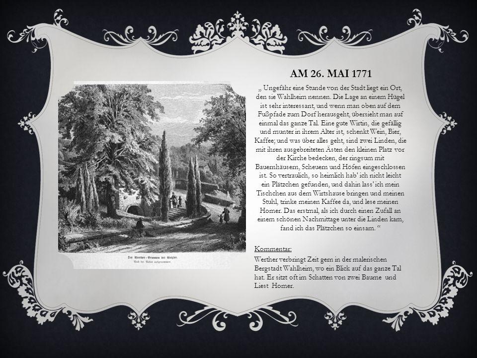 Am 26. Mai 1771