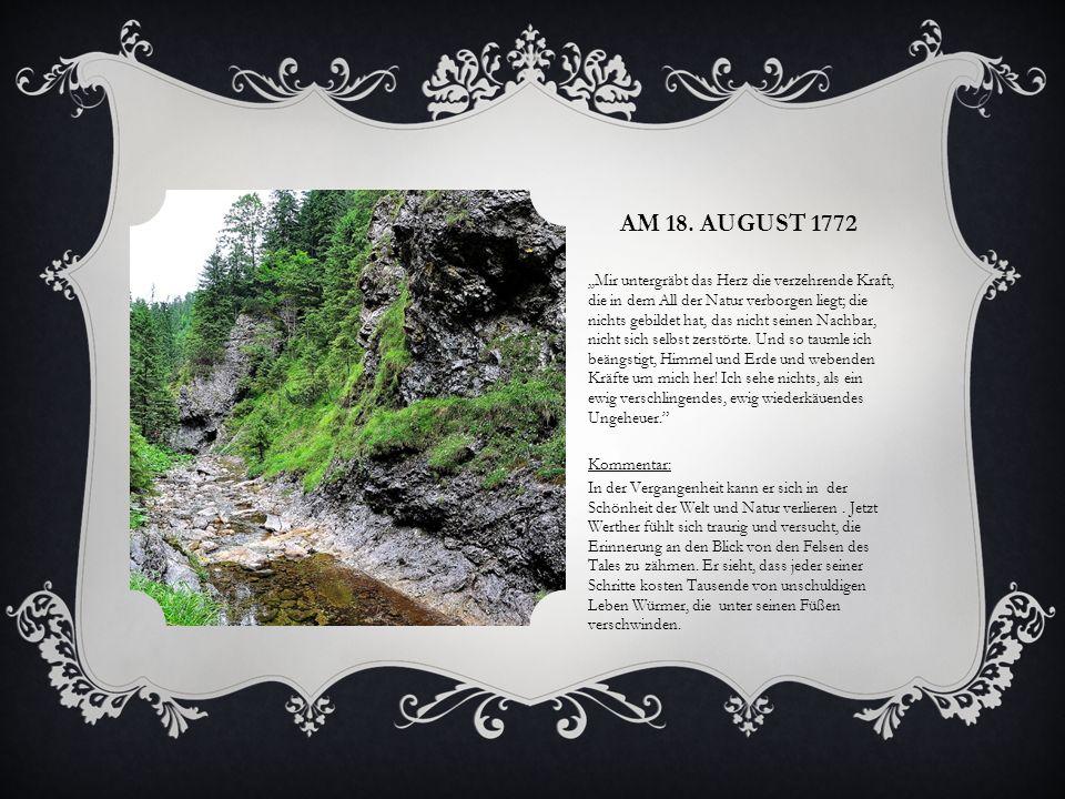 Am 18. August 1772