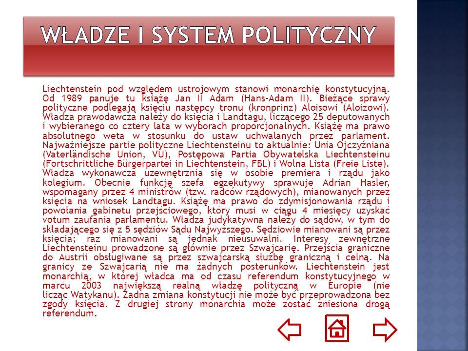 Władze i system polityczny